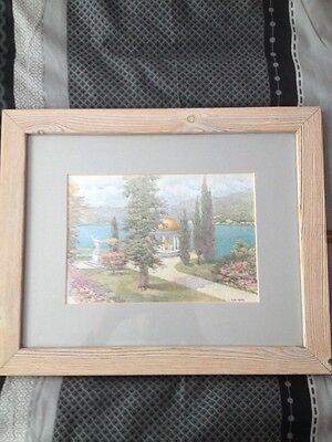 J. Koehler Watercolour!! Mounted, Framed & Glazed!!