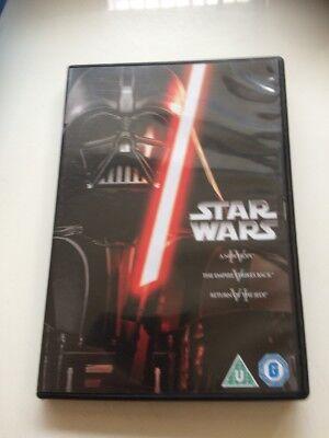 Star Wars - The Original Trilogy (DVD, 2013, 3-Disc Set, Box Set)