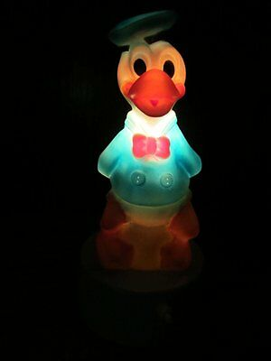 DONALD DUCK NIGHT LIGHT - WORKING  WALT DISNEY  PRODUCTIONS 1977