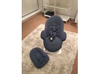 STOKKE STEPS BOUNCER BLUE for SALE@£95 ***TOP CONDITION***