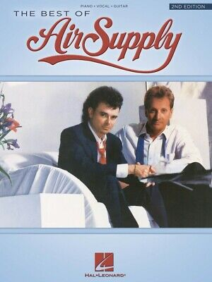 The Best of Air Supply 2nd Edition Sheet Music Piano Vocal Guitar NEW