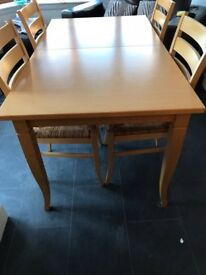 NEXT table and 4 chairs £75