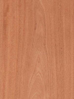 Mahogany Veneer Plain Sliced Wood On Wood Backer 4 X 8 48 X 96 Sheet