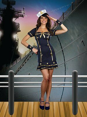 Cruise Cutie Costume - Sexy Cruise Cutie Sailor Honey Adult Women Costume