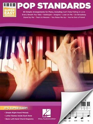 - Pop Standards Super Easy Songbook Sheet Music Super Easy SongBook NEW 000233770