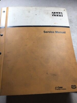 Case 580c Loader Backhoe Service Manual