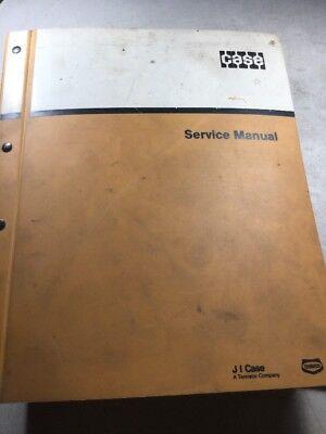 Case 580c Loader Backhoe Service Manual