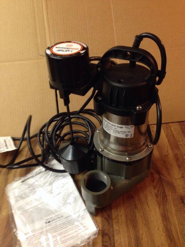 wolverinebrass sump pump 1/2 hp #ssp100