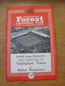 26-09-1959-Nottingham-Forest-v-Bolton-Wanderers-Folded-Any-faults-with-this