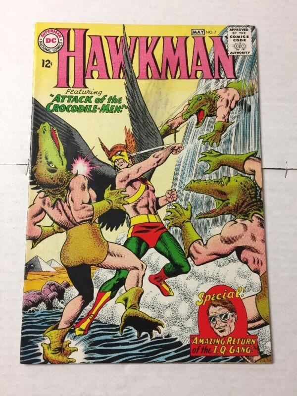 Hawkman 7 5.5 Fine-Fn-