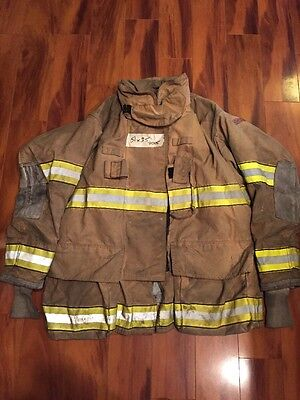 Firefighter Globe Turnout Bunker Coat 51x35 G-xtreme Halloween Costume