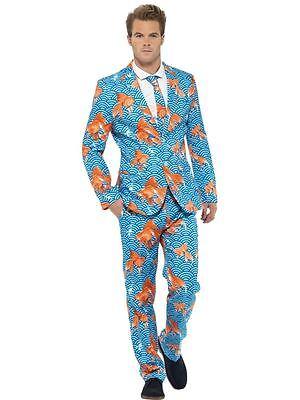 Goldfish Suit, Large, Adult Costumes Stand Out Suits Fancy Dress - Goldfish Kostüm