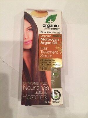 Organic Doctor Moroccan Argan Oil Hair Treatment Serum, 100