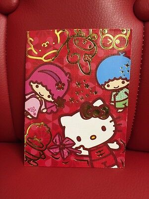 Sario Hello Kitty Twin Stars And Friends Lunar Year Envelopes 8pcs (HK)