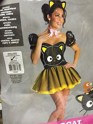 Hello Kitty Secret Wishes Sexy Chococat Costume Size Small 2-6 (Hello Kitty Sexy)