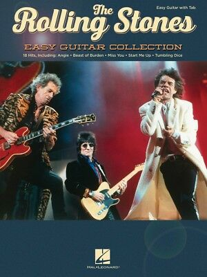 The Rolling Stones Easy Guitar Collection Sheet Music Book NEW 000198960