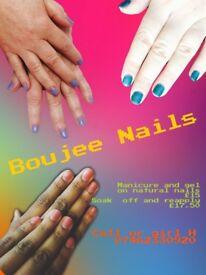 Gel Nails on natural nail