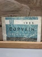 1965 CORVAIR USERS GUIDE