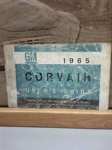 1965 CORVAIR USERS GUIDE Windsor Region Ontario image 1