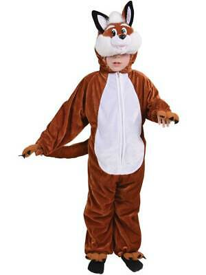 Child Boys Girls Kids Mr Fox Animal Fancy Dress Costume New Outfit Book Week Day