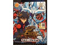 Yu-Gi-Oh 5D's All 154 Episodes Japanese . Malaysian Imports