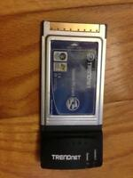 Carte Gigabit Ethernet - PC Card - pour portable