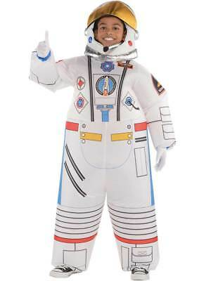 Childs Inflatable Astronaut Costume Boys Girls Space Suit Fancy Dress - Girls Astronaut Costume