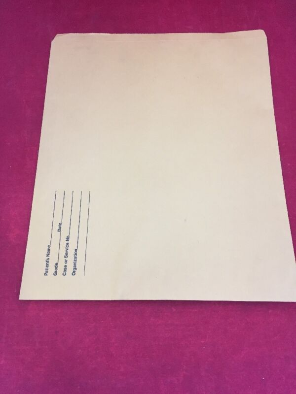 "New Box Of 100 Large Open End Manila Photo Envelopes 17.5x14.5"" Radiographic"