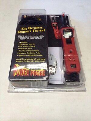 Power Probe 3 III PP319FT-RED Red Powerprobe III With Voltmeter and  CD.