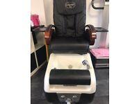 Massage/pedicure chair