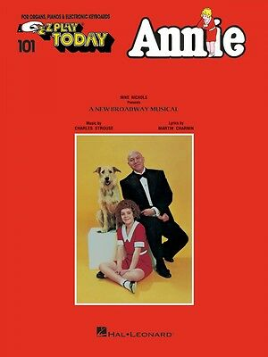 Annie Sheet Music E-Z Play Today Book NEW 000100000