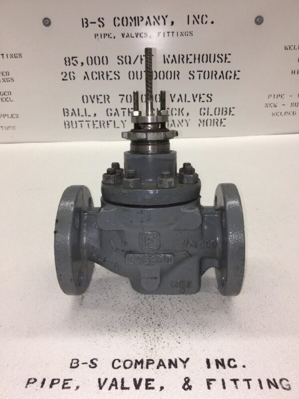 """Fisher Control Valve 1.5"""" 1-1/2"""" 300 Flanged Globe Style"""
