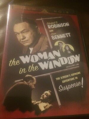 The Woman In The Window  Dvd  2007    Edward G  Robinson And Joan Bennett