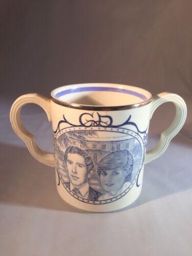 Royal Wedding ADAMS PRINCE CHARLES and DIANA WEDDING MUG 1981 Loving Cup