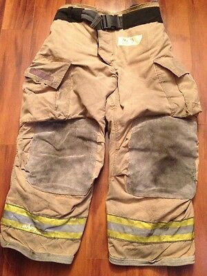 Firefighter Turnout Bunker Pants Globe 38x28 G Extreme Halloween Costume