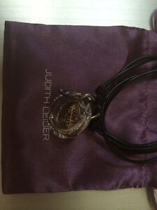 Judith Leiber SWAROVSKI Crystal Necklace Brand New Pouch Included