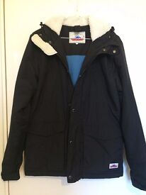Penfield Parka Jacket Black Medium Mens