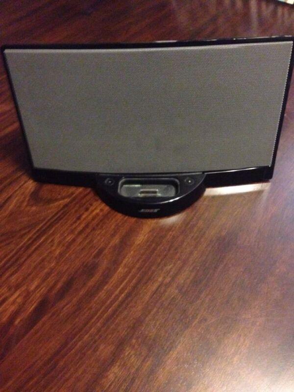 NO POWER CORD - BOSE black SOUND DOCK 1 ONE Digital Music System speaker iPOD