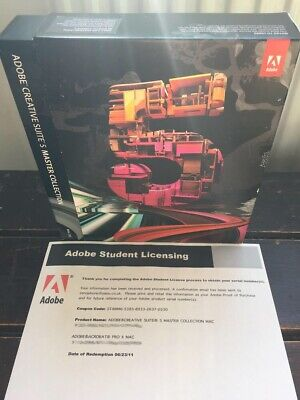 ADOBE Creative Suite CS5 MASTER COLLECTION for Windows - With Photoshop etc