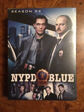 "NYPD Blue - Season 2 (DVD, 6-Disc Collector's Edition Set) ""NEW"""