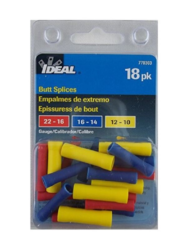 (Lot of 7) IDEAL (770303) 18-Pack Butt Splices