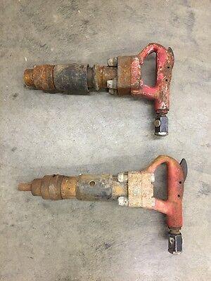 2 Ingersoll Rand Pneumatic Chipper Size 3da Chipping Hammers Breaker Tool