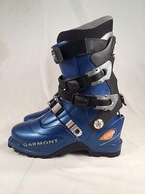 Garmont GSM Mountaineering Ski Boots Alpine Touring Mondo 26.5 Blue
