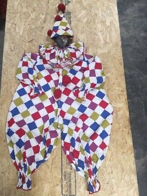 Circus Doll Costume (Harlequin Clown Uniform Costume Circus Like Mattel Doll Patootie By Silvey)