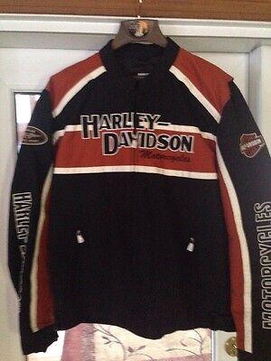 Mens Harley Davidson lightweight riding jacket XL