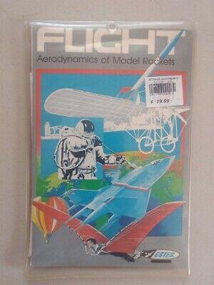 Vtg 1986 Estes Flight Aerodynamics of Model Rockets Computer Software Flight Model Rocket