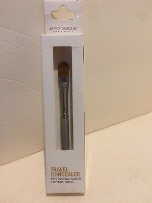 JAPONESQUE travel CONCEALER MAKE UP BRUSH PROFESSIONAL  NEW IN BOX