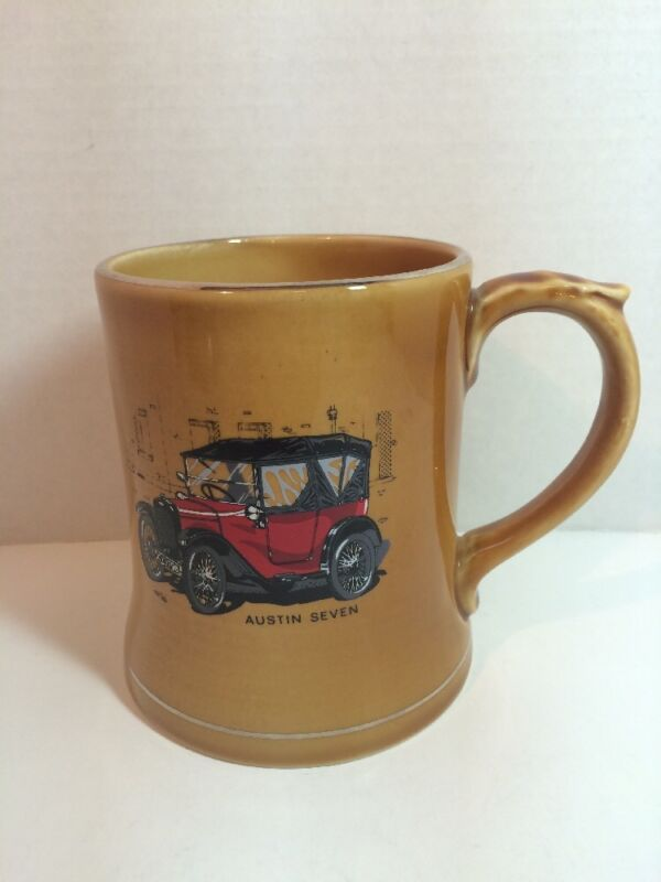 Austin Seven Car Mug Stein Wade of Ireland Veteran Cars