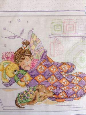 Rto Counted Cross Stitch Kit Kitchen Fairy New