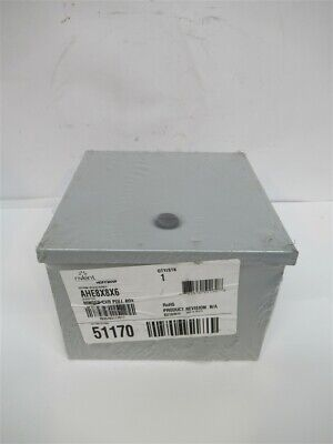 Hoffman Ahe8x8x6 Hinged Cover Pull Box